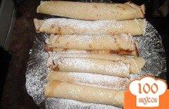Фото рецепта: «Домашние блинчики с начинкой»
