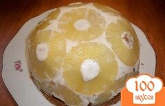 """Фото рецепта: «Торт """"Мячик"""" без выпечки»"""