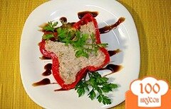Фото рецепта: «Перец фаршированный, запеченный»