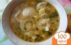 Фото рецепта: «Пельменный суп»