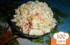 Фото рецепта: «Крабовый салат»
