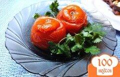Фото рецепта: «Помидор запеченный с кабачком и сыром»