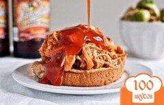 Фото рецепта: «Курица в пивном соусе»