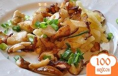 Фото рецепта: «Подосиновики, жареные с картошкой»