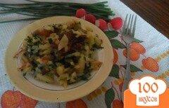 Фото рецепта: «Жареный картофель с петрушкой»