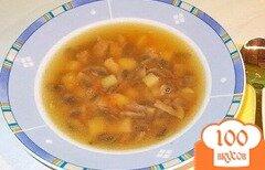 Фото рецепта: «Суп грибной с мясом»