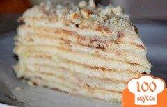 """Фото рецепта: «Торт """"Минутка"""" без выпечки»"""