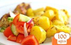 Фото рецепта: «Запеченная картошка»