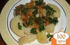 Фото рецепта: «Молодой картофель по-деревенски»