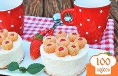 Фото рецепта: «Десерт Ягодка- Малинка»