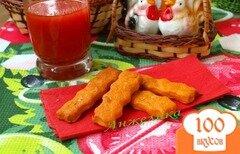 Фото рецепта: «Постное печенье на томатном соке»