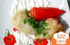 Фото рецепта: «Вегетарианские голубцы и перцы»