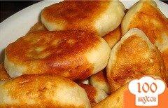 Фото рецепта: «Дрожжевые пирожки на сковороде»