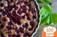 Фото рецепта: «Пирог с малиной»