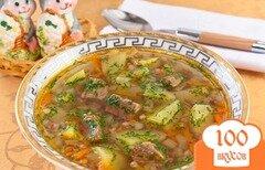 Фото рецепта: «Суп с тушенкой в мультиварке»