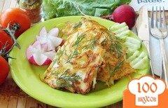 Фото рецепта: «Филе куриной грудки в картофельной соломке»