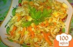 Фото рецепта: «Салат из капусты с яблоком»