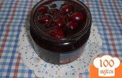 Фото рецепта: «Варенье вишневое, с ароматом кофе и какао»
