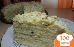 Фото рецепта: «Творожный торт на сковороде»