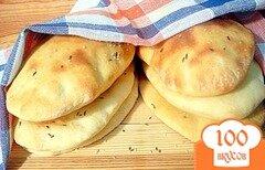 Фото рецепта: «Индийские хлебные лепёшки наан»