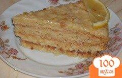 """Фото рецепта: «Торт """"Лимонник""""»"""