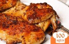 Фото рецепта: «Цыпленок на сковороде»