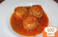 Фото рецепта: «Ежики на сковороде»