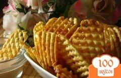 Фото рецепта: «Чипсы на сковороде»