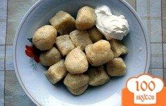 Фото рецепта: «Галушки без яиц»