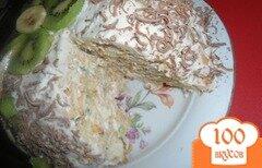 Фото рецепта: «Торт из крекеров без выпечки»