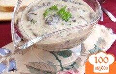 Фото рецепта: «Сметанно-грибной соус»