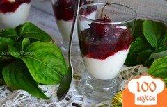 Фото рецепта: «Десерт с моцареллой»