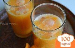 Фото рецепта: «Апельсиново-дынный коктейль с водкой»