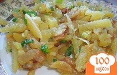 Фото рецепта: «Вкусная картошка на сковороде»