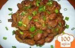 Фото рецепта: «Лобио с грибами»