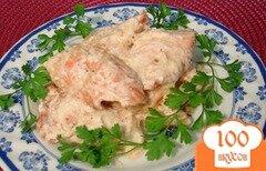 Фото рецепта: «Мясо лосося в сливках»