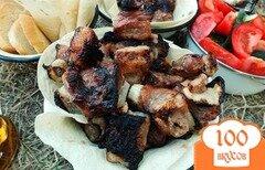 Фото рецепта: «Шашлык свиной в горчичном маринаде»