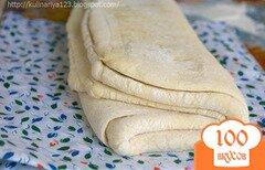Фото рецепта: «Бездрожжевое слоеное тесто»