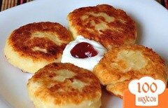 Фото рецепта: «Сырники из творога на сковороде»