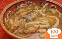 Фото рецепта: «Грибная лапша из сушеных грибов»