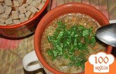 Фото рецепта: «Суп из белых грибов с вермишелью»