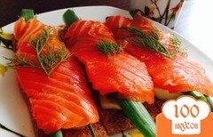 Фото рецепта: «Бутерброд с красной рыбой»