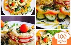 Фото рецепта: «Кабачки в сметанно-чесночном соусе.»