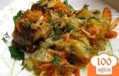 Фото рецепта: «Щука в духовке с овощами»