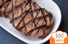 Фото рецепта: «Стейк из говядины на гриле»
