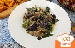 Фото рецепта: «Желудки с розмарином и свежим базиликом»