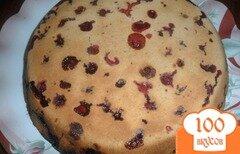 Фото рецепта: «Пирог с вишнями»
