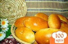 Фото рецепта: «Пирожки с луком и яйцом и с начинкой из печени»