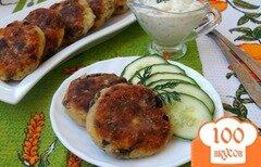 Фото рецепта: «Котлеты из картофеля с шампиньонами»