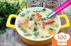 Фото рецепта: «Суп из капусты с сырочками»